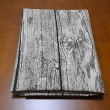 1Pcs 145 * 100cm / 57*39 inch Linen Cotton Blend Fabric Wood Bark Printed Cloth For Handmade Curtain / Tablecloth