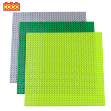 COGO 32*32 Dots Base Plates Plastic Bricks Baseplate Board Building Blocks Toys Compatible Brand Blocks Construction Duplo Toys(China)