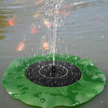 Solar Power Water Pump Panel Kit Garden Pond Landscape Submersible Watering System Fountain Pool Pumps High Quality
