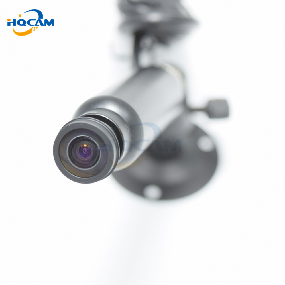 HQCAM OSD Menu 600TVL Sony CCD Color 2090+639\638 Mini Bullet Camera Security Camera 1.45mm fish eye wide Angle lens 200 degrees<br>