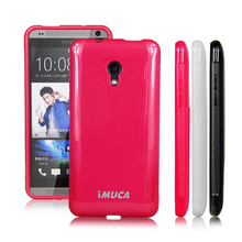 IMUCA brand soft tpu silicone cases for HTC Desire 700 709D 7088 7060 case cover+screen protector shell phone accessories(China)
