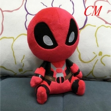 20cm Marvel Movie X-man Deadpool Soft FUNKO POP Spider man Plush Doll Toy action figure kids toys