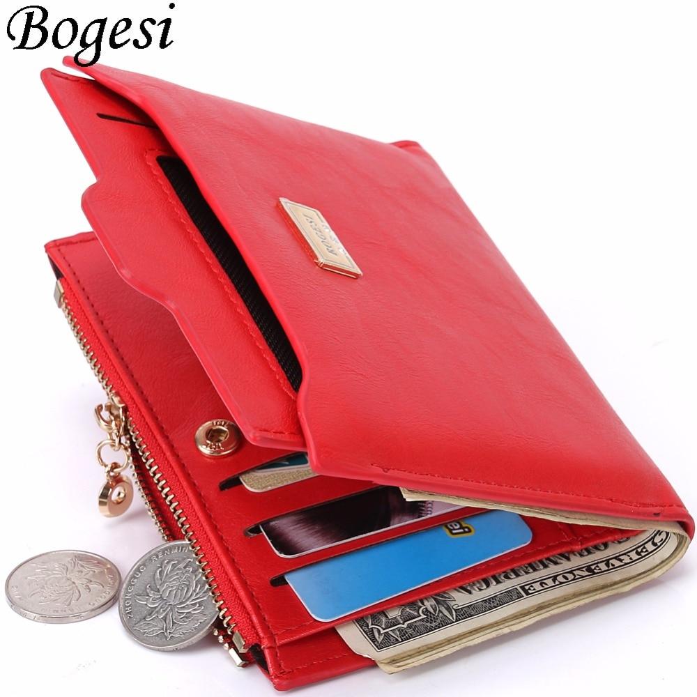 with Coin Bag zipper new 2017 women wallets brand purses female thin wallet passport holder ID Card Case