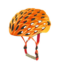 New Men's Women's Comfort Safety Sports Helmets for Cycle Bicycle Helmet EPS+PC Ultralight Road Bike Helmet SV000 Orange 260g