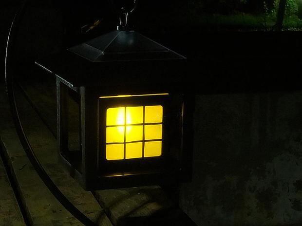 Led Kronleuchter Outdoor ~ Großhandel wasserdichte led solar panel flamme kerzenlicht