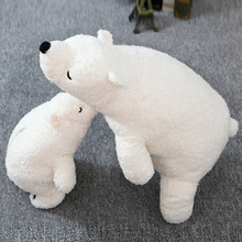 70cm Polar Bear Plush Toy Cute White Bear Soft Dolls Stuffed Kids Toys Best Gift For Children And Girlfriend High Quality