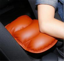 Promotion! Car Auto Armrests Cover Vehicle Center Console Arm Rest Seat Box Pad Protective Case Soft PU Mats Cushion Universal(China)