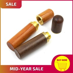 Органайзер для игл и инструментов для кожи, из сандалового дерева