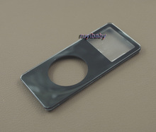 black front plastic faceplate housing case cover shell with lens repair replacement for ipod nano 1st gen 1gb 2gb 4gb