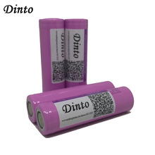 Dinto Samsung 26F 3.7V 2600mAh Battery Li-ion 18650 Rechargeable Batteries Powerbank Flashlight Torch - DinTop Store store