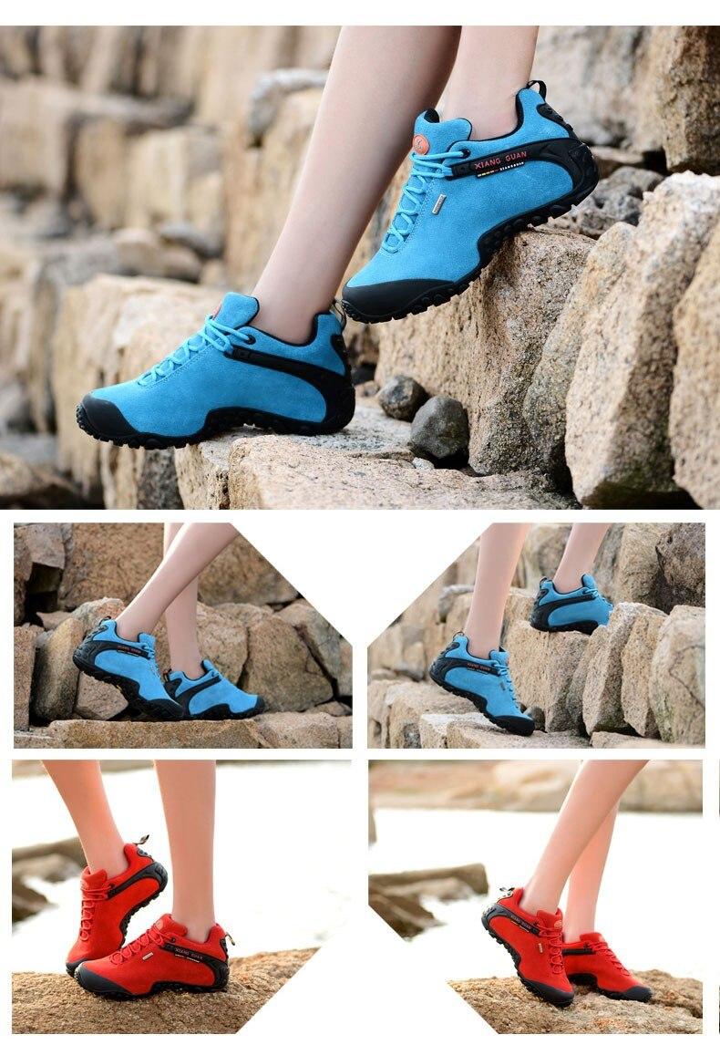 XIANG GUAN Winter Shoe Mens Sport Running Shoes Warm Outdoor Women Sneakers High Quality Zapatillas Waterproof Shoe81285 16