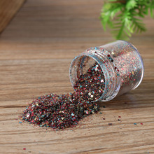 1 Box DIY Nail Art Glitter Powder Dust Pink Rose Red Mixed Sequins Decoration Tools