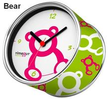 [In Stock] Bear Magnetic Cheap Wall Clocks,Cheap Desk Clocks,Cheap Table Function Clocks in Free Shipping(China)