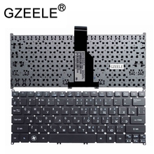 GZEELE new russo Teclado Portátil para ACER Aspire ONE B113 725 726 AO765 756 MS2346 V5-131 v5-171 v5-121 RU layout preto(China)