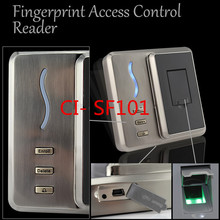 2016 hot sales ! Biometric Access Controller 125 Khz ID card Fingerprint access control system supports Wiegand 26-64 output