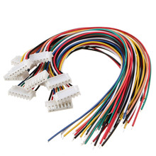 10Pcs 6S1P DIY Balance Charger Cable Wire RC JST Connector With Male Female Plug Power Cords & Extension Cords Promotion(China)