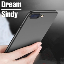 Ultra Thin silicon soft case For iphone 6 6s 7 Luxury TPU matte cases For iphone 6 6s 7 PLus full cover phone back shell bags(China)