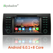 8 core Android 6.0 Octa Core 2GB RAM GPS map Car DVD Player Radio Wifi For BMW E39 2002 2003 2006 2007 E38 X5 E53 M5 Range Rover