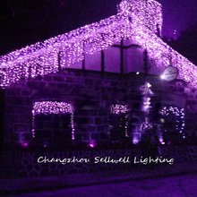 Christmas Tree Christmas Decoration Great!purple Lighting Yard Clothing Store Stairs Decoration Led Light Lamp H006(3)