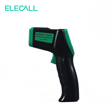 ELECALL EM530 Digital Laser Infrared Thermometer IR High Temperature Gun Tester -32-380degree Adjustable(China)