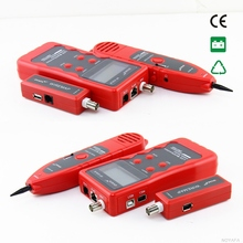 Free Shipping!! NOYAFA NF-838 Network LAN Phone Tester Wire Cable Tracker USB Coaxial 1394 RJ45 RJ11(China)
