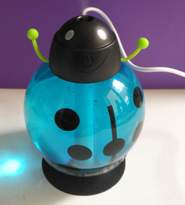 GX02-13,Small ladybug car usb Humidifier incubator diffuser led Mini Air Humidifier Air Diffuser Portable Water Aroma Mist Maker<br><br>Aliexpress