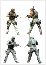 [tuskmodel] 1 35 scale resin figures kits
