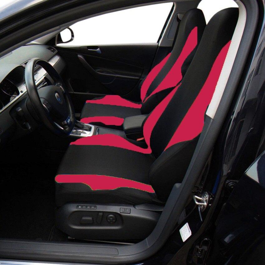 Auto-protector asientos ya referencias fundas para asientos negro set de poliéster alta calidad