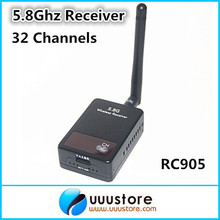 Boscam Thunderbolt RC905 5.8Ghz FPV 32 Channels Wireless audio video AV Receiver For 5.8G transmitter(China)