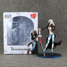 One Piece Figure Toy Lady Trafalgar Law Sexy Model 22cm POP Law Doll for Collection