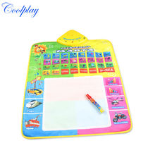Coolplay CP1329nc 49.5X68cm Spanish  Music  Painting Doodle Mat /Spanish Play Mat/Drawing Board /Water Mat/doodle carpet rug