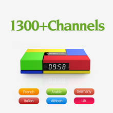 Europe Arabic French IPTV Channels Android 6.0 4K TV Box S912 T95Kpro 3GB RAM Support Sport Canal Plus French Iptv Set Top Box
