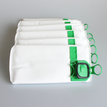 6pcs/lot dust filter bag replacement for VK140 VK150 Vorwerk garbage bags FP140 Bo rate kobold Vacuum cleaner(China)
