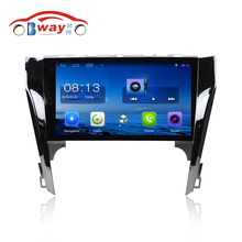 "Bway 10.2"" Quad core car radio audio for Toyota Camry 2012 android 6.0 car dvd player with Wifi,BT,SWC,support DVR"