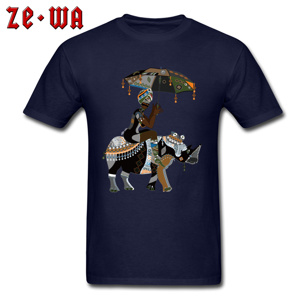 Fitted african art drawing african people T Shirts Crewneck 100% Cotton Men Tops T Shirt Short Sleeve Summer/Fall Tops Shirts african art drawing african people navy
