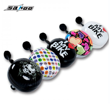 "SAHOO 0.86"" Dia Handlebar Cartoon Print Bell for Bicycle Bike(China)"