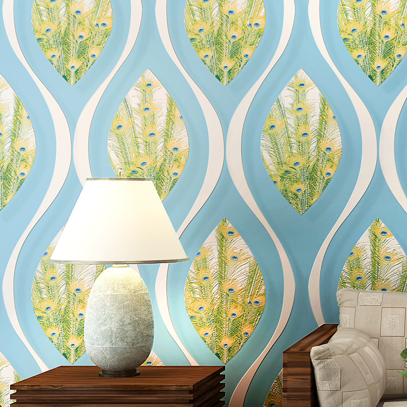 2017 Italian Style Wallpaper Home Decor Modern Plants Papel De Parede Wallpaper Roll For Living Room Background Wall Paper Roll<br><br>Aliexpress