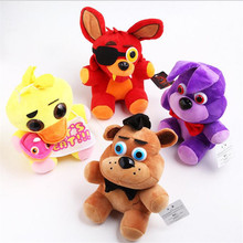 Five Nights At Freddy's Plush Fnaf World Freddy Animal  Bear Foxy Rabbit Ducki Plush Toys Kawai Stuffed Children Christmas Gif
