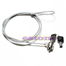 Buy Notebook Laptop Computer Security key Lock Cable Chain New Drop shipping-PC Friend for $2.12 in AliExpress store