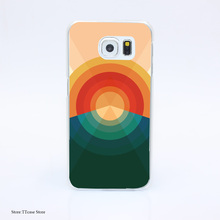 3078G Sonar Pou Print Hard Transparent font b Case b font Cover for Galaxy S3 S4