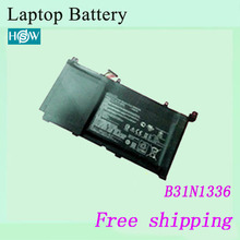 High quality Original Laptop Battery For ASUS VivoBook S551LN-1A S551 R553L R553LN Genuine batteries