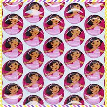1'' Free shipping dora 3D dome round clear Epoxy Resin sticker for Bottle cap DIY Self Adhesive hair bow 25mm B402(China)
