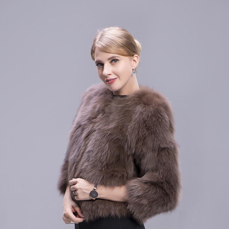 fox fur coat coffee 5 1