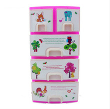 1set Printing Closet Wardrobe For Barbie Doll Girls Toy Princess Bedroom Furniture Baby Toys Dolls Accessories(China)