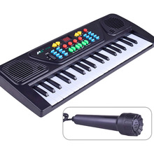 New 37 Keys Music Electronic Keyboard Kid Electric Piano Organ Toy Musical Instrument For Children(China)