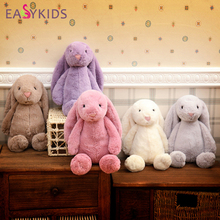Lovely Bunnies Baby Soft Plush Long Ear Bunny Fluffy Rabbit Toys Cushion Stuffed Animals Soft Dolls Brinquedos Kids Sleeping Toy