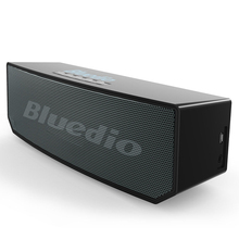 Bluedio BS-5 Original Mini Bluetooth Speaker Portable Dual Wireless Loudspeaker System with microphone for music and phone call(China)