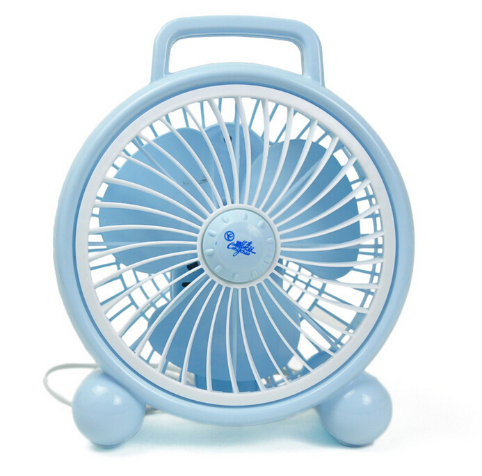 220V  20W lovely mini electric box fan  for student 25X28cm 2 gears<br>