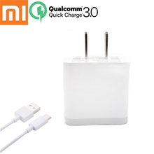 Buy Original xiaomi mi6 Quick Charger, 12V/1.5A fast Usb Wall Rapid EU/US QC3.0 Charge Charger Adapter&Type-C cable xiaomi mi 6 for $10.39 in AliExpress store