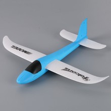 2017 Hand Launch Throwing Glider Aircraft Inertial Foam EVA Airplane Toy Plane Model Outdoor Plane Model Toys(China)